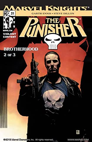 The Punisher (2001-2003) #21