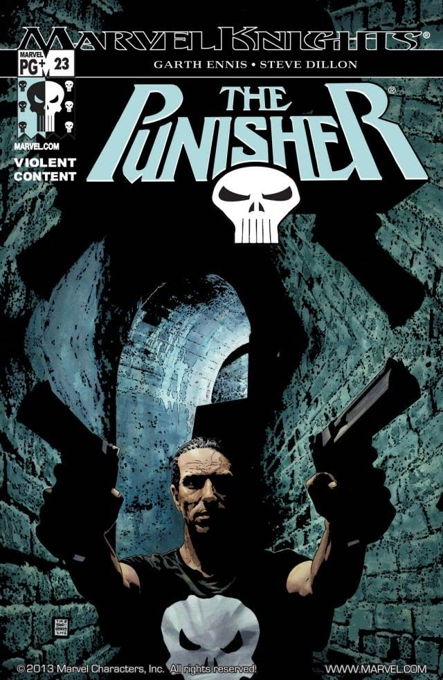 The Punisher (2001-2003) #23