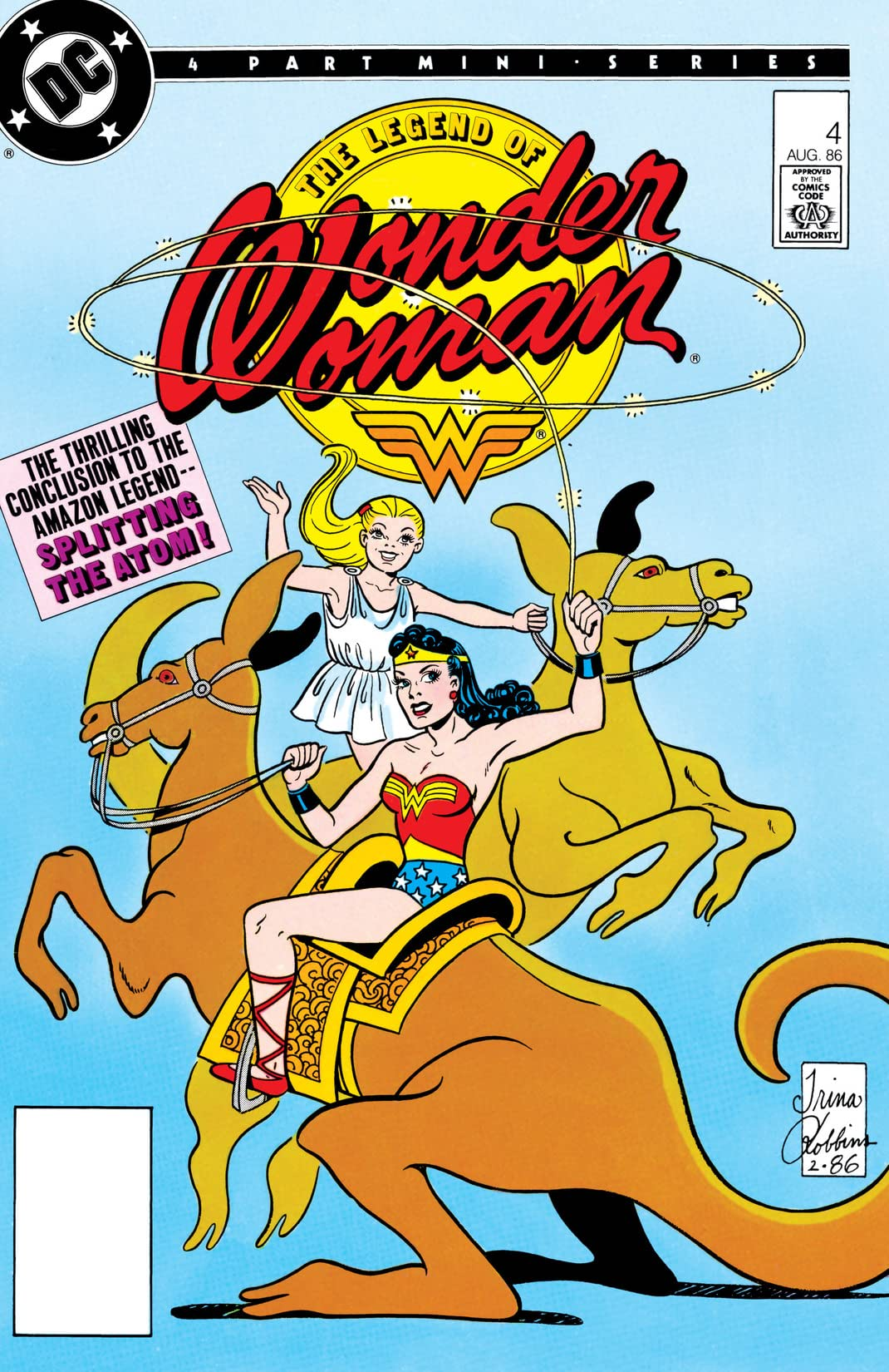 The Legend of Wonder Woman (1986) #4
