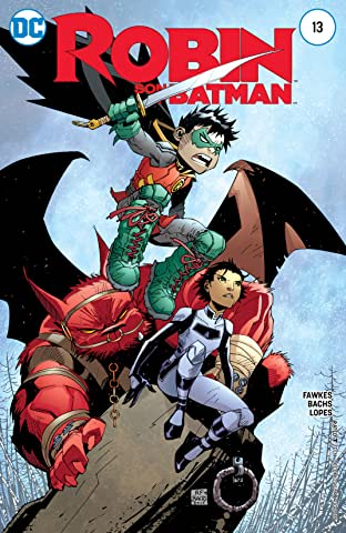 Robin: Son of Batman (2015-2016) #13