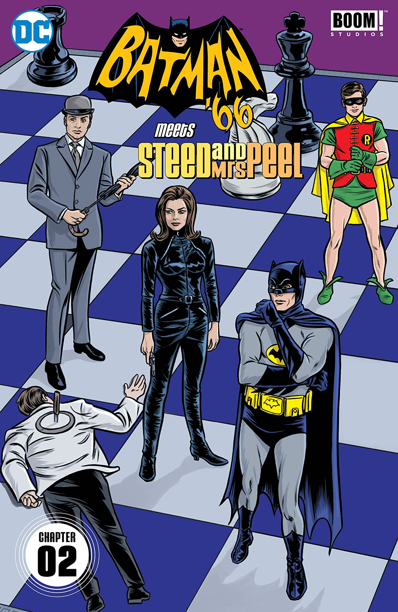 Batman '66 Meets Steed and Mrs Peel (2016) #2