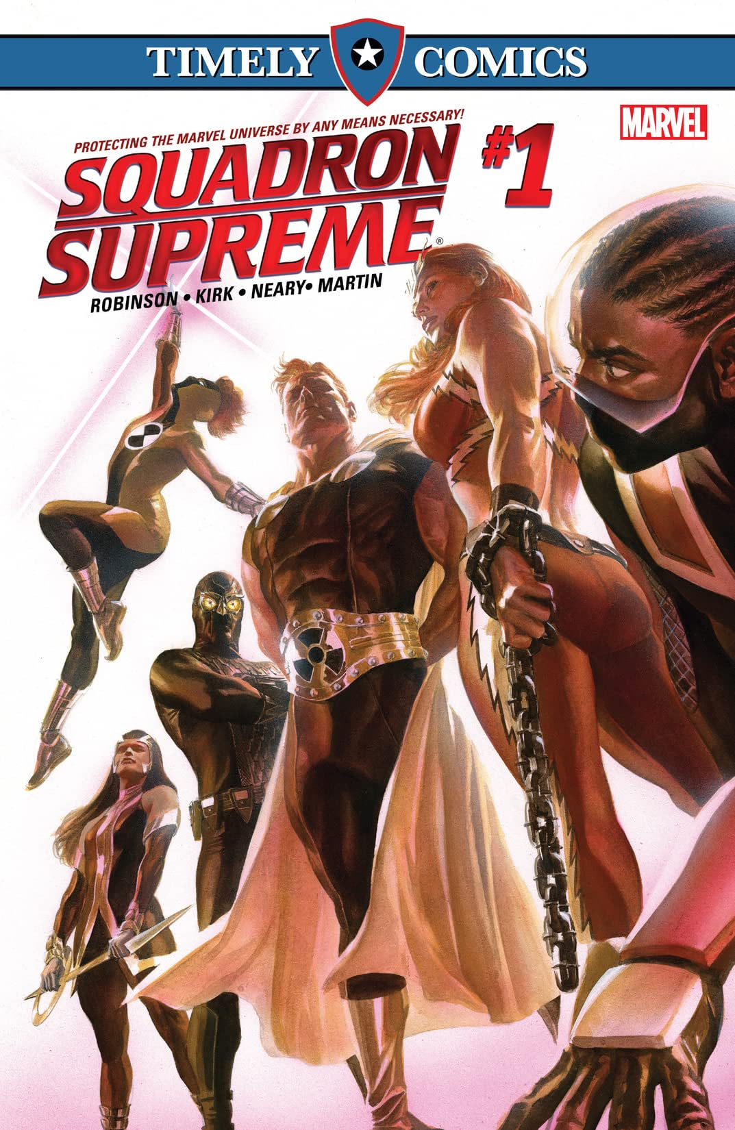 Timely Comics: Squadron Supreme #1