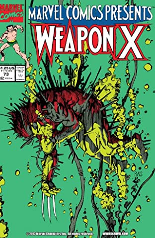 Marvel Comics Presents (1988-1995) No.73