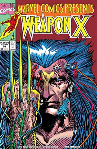 Marvel Comics Presents (1988-1995) No.74