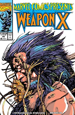 Marvel Comics Presents (1988-1995) No.78