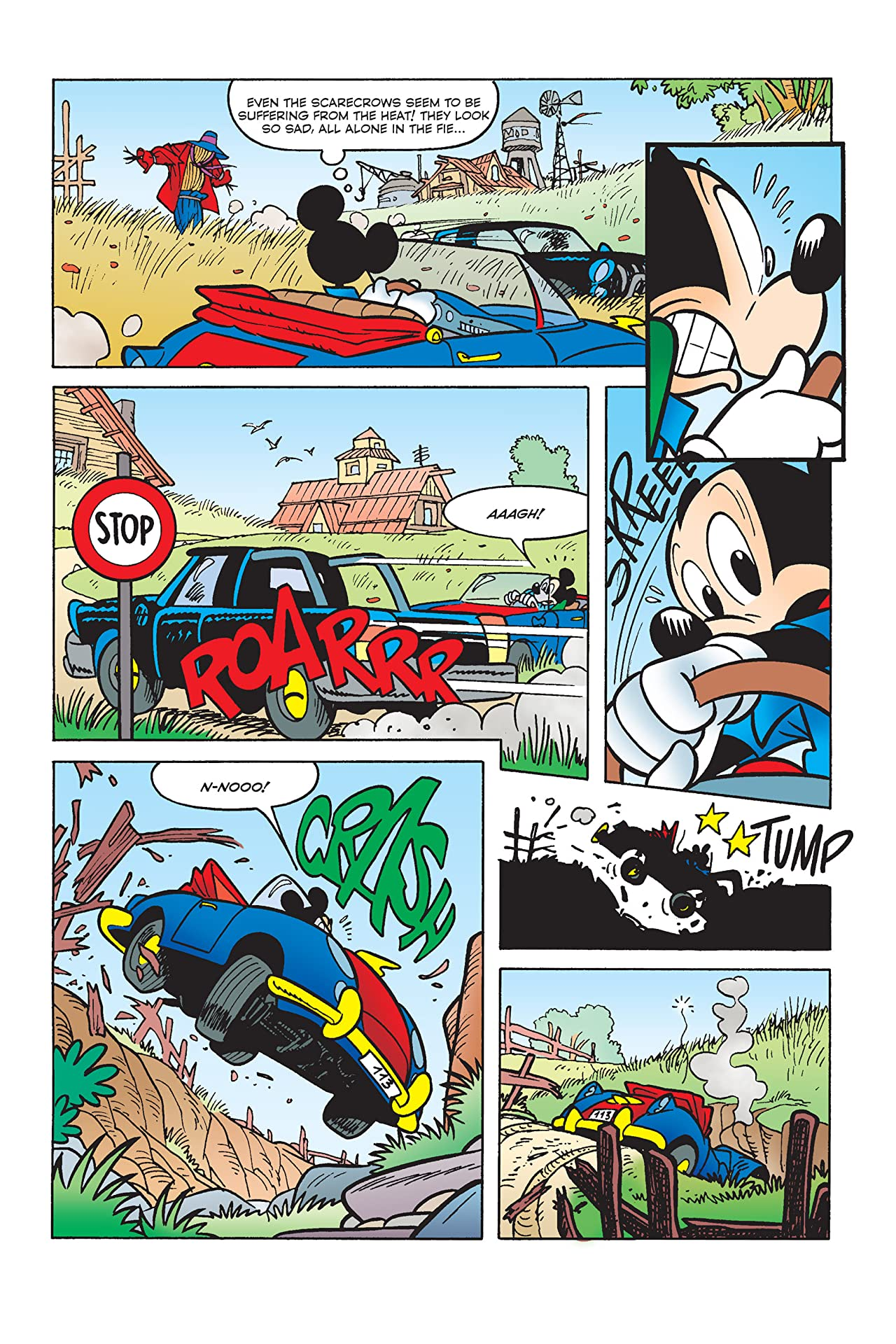 X-Mickey #5: Before the Break of Day