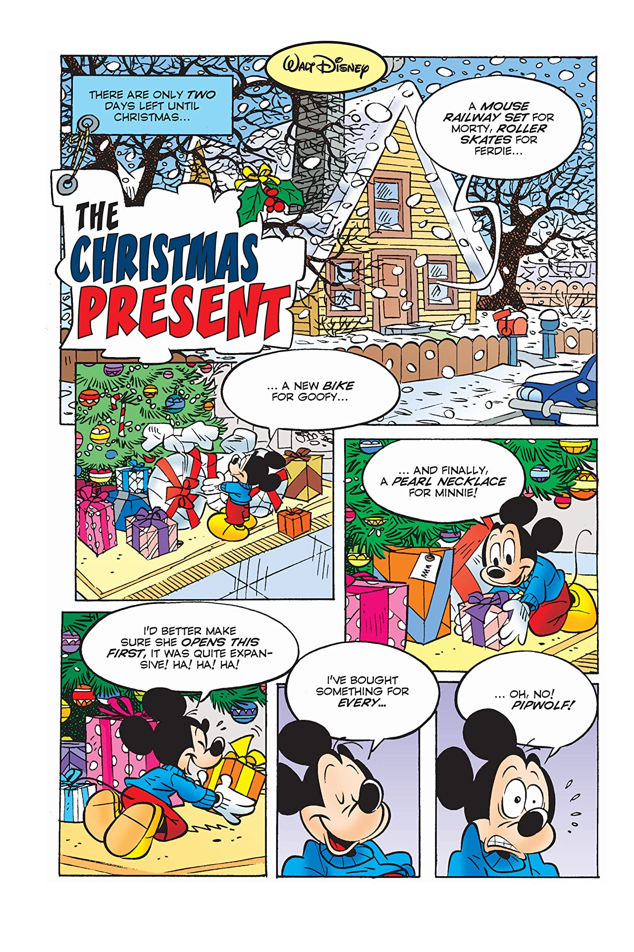 Mickey Mouse and the Christmas Present