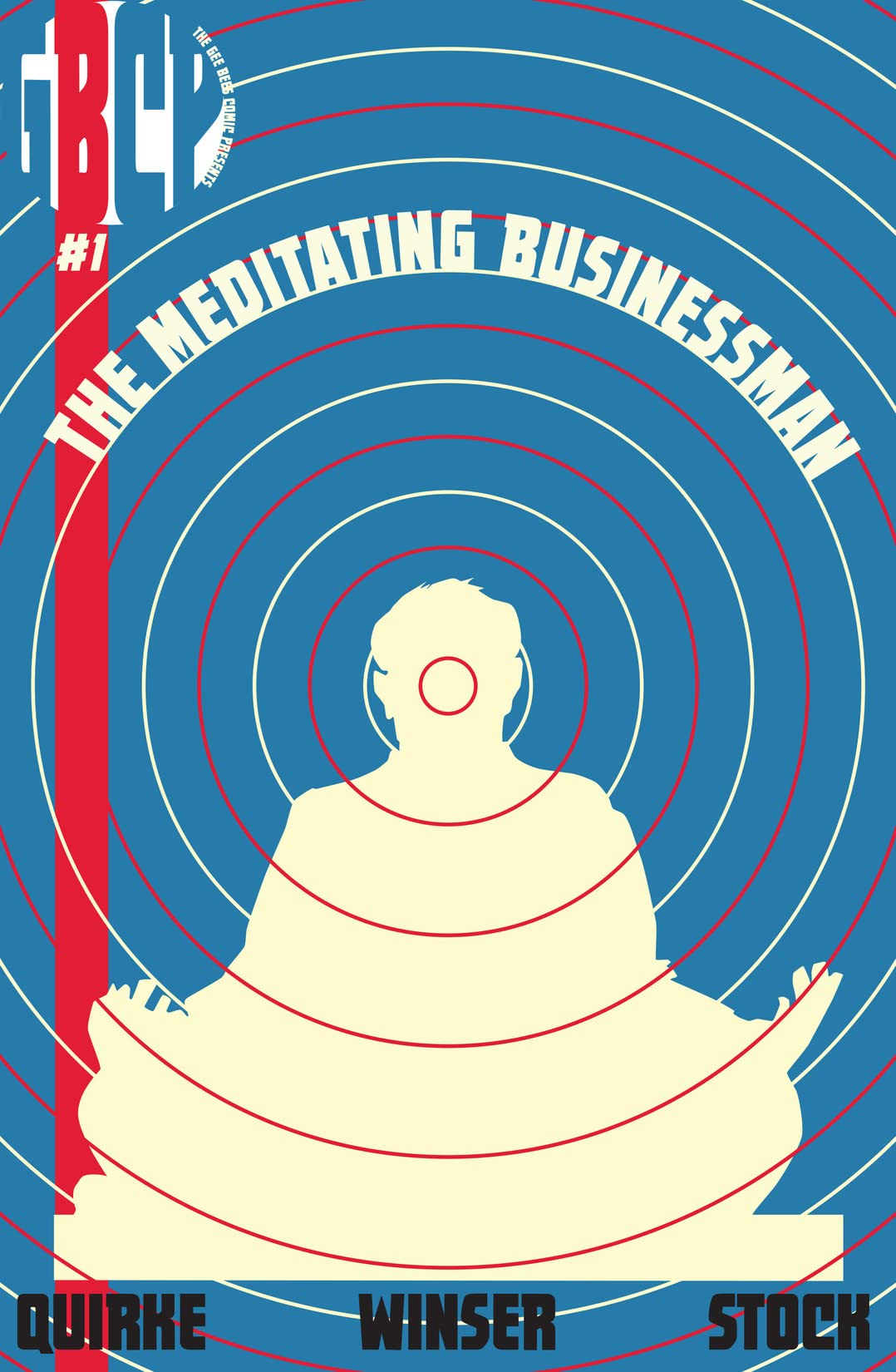 The Meditating Businessman #1