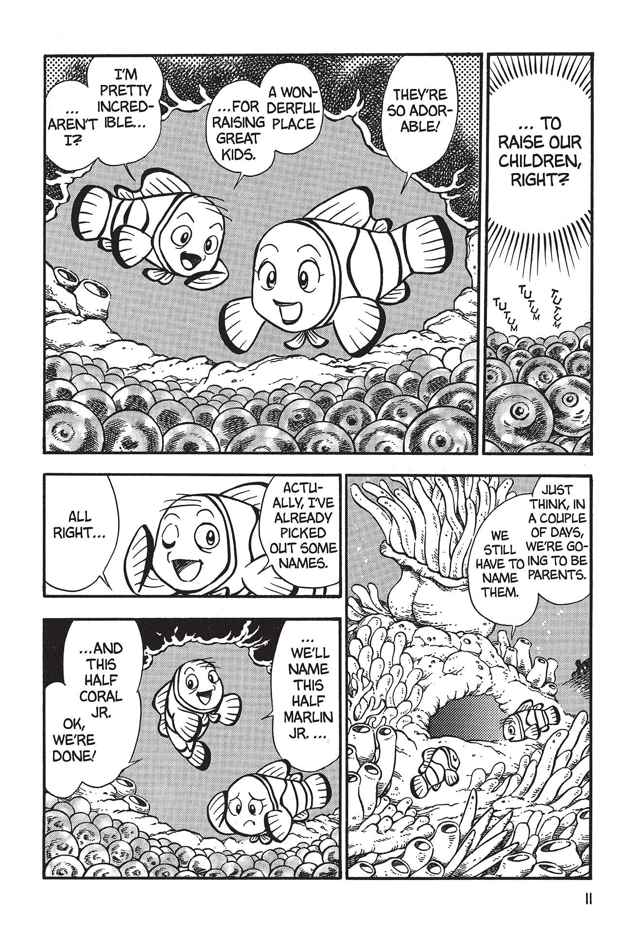 Disney Manga: Finding Nemo