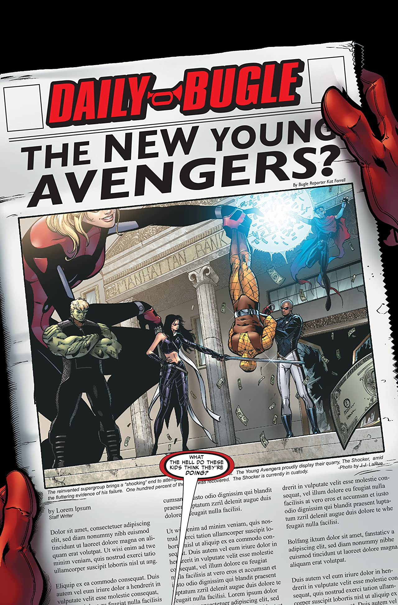Young Avengers (2005-2006) #7