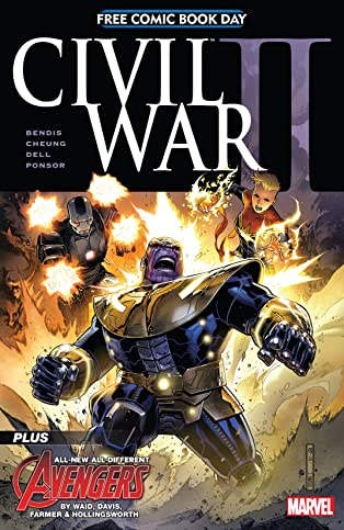 FCBD 2016: Civil War II #1