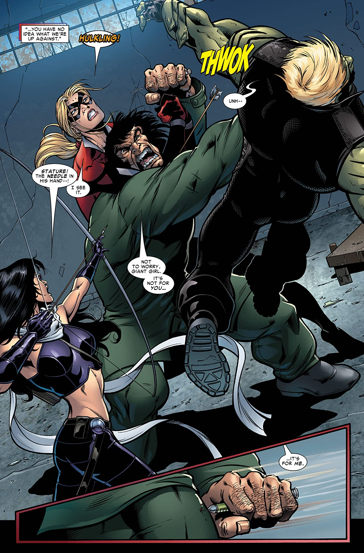 Young Avengers (2005-2006) #8