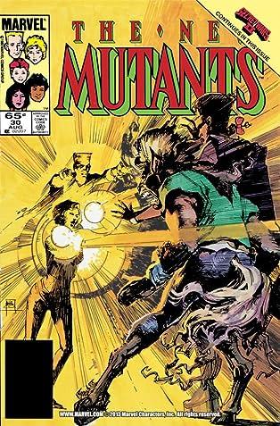 New Mutants (1983-1991) #30