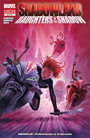 Shadowland: Daughters of the Shadow No.2 (sur 3)