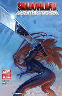 Shadowland: Daughters of the Shadow #3 (of 3)