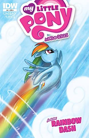 My Little Pony: Micro Series - Rainbow Dash #2