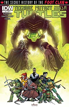 Teenage Mutant Ninja Turtles: Secret History of the Foot Clan #4 (of 4)