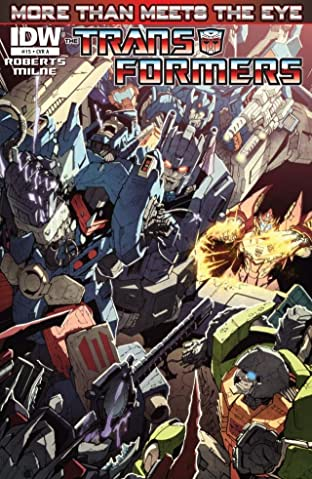 Transformers: More Than Meets the Eye (2011-2016) #15
