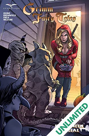Grimm Fairy Tales: 2016 Halloween Issue