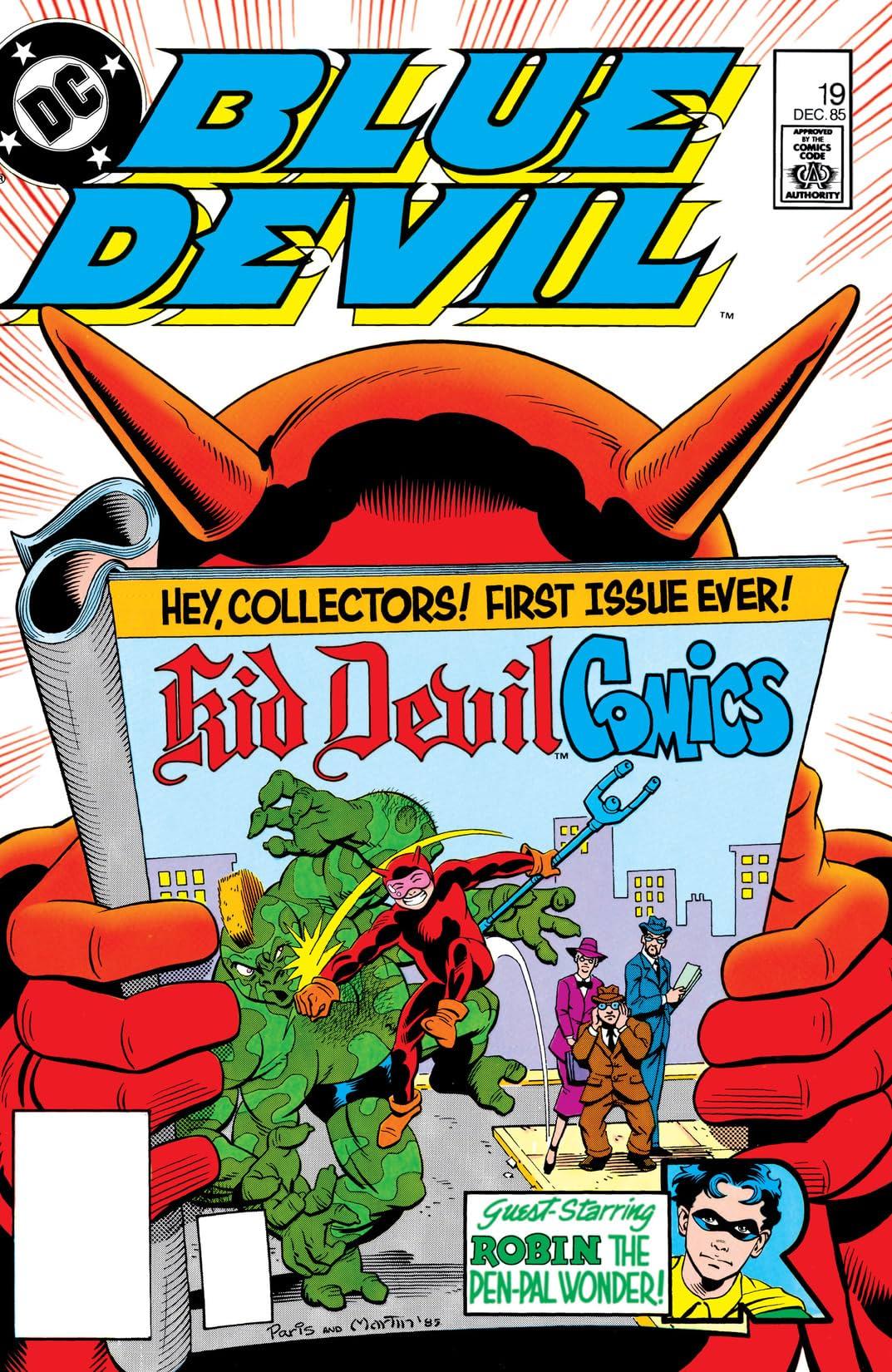 Blue Devil (1984-1986) #19