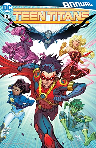 Teen Titans (2014-2016): Annual #2
