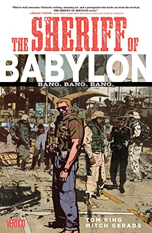Sheriff of Babylon (2015-2016) Tome 1: Bang. Bang. Bang.