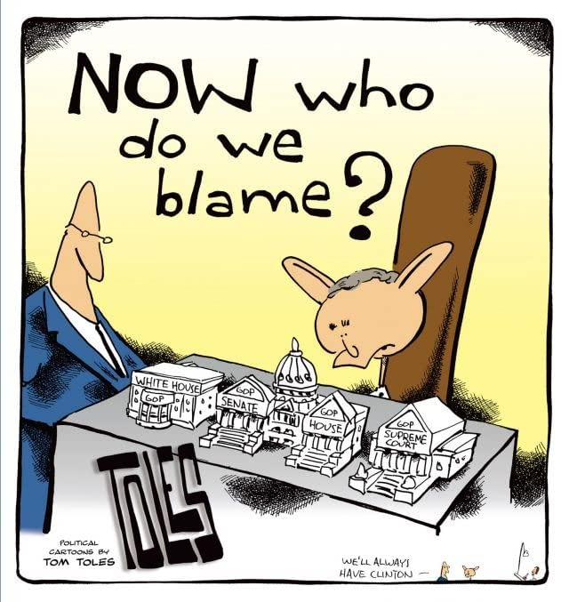 NOW Who Do We Blame?: Political Cartoons by Tom Toles