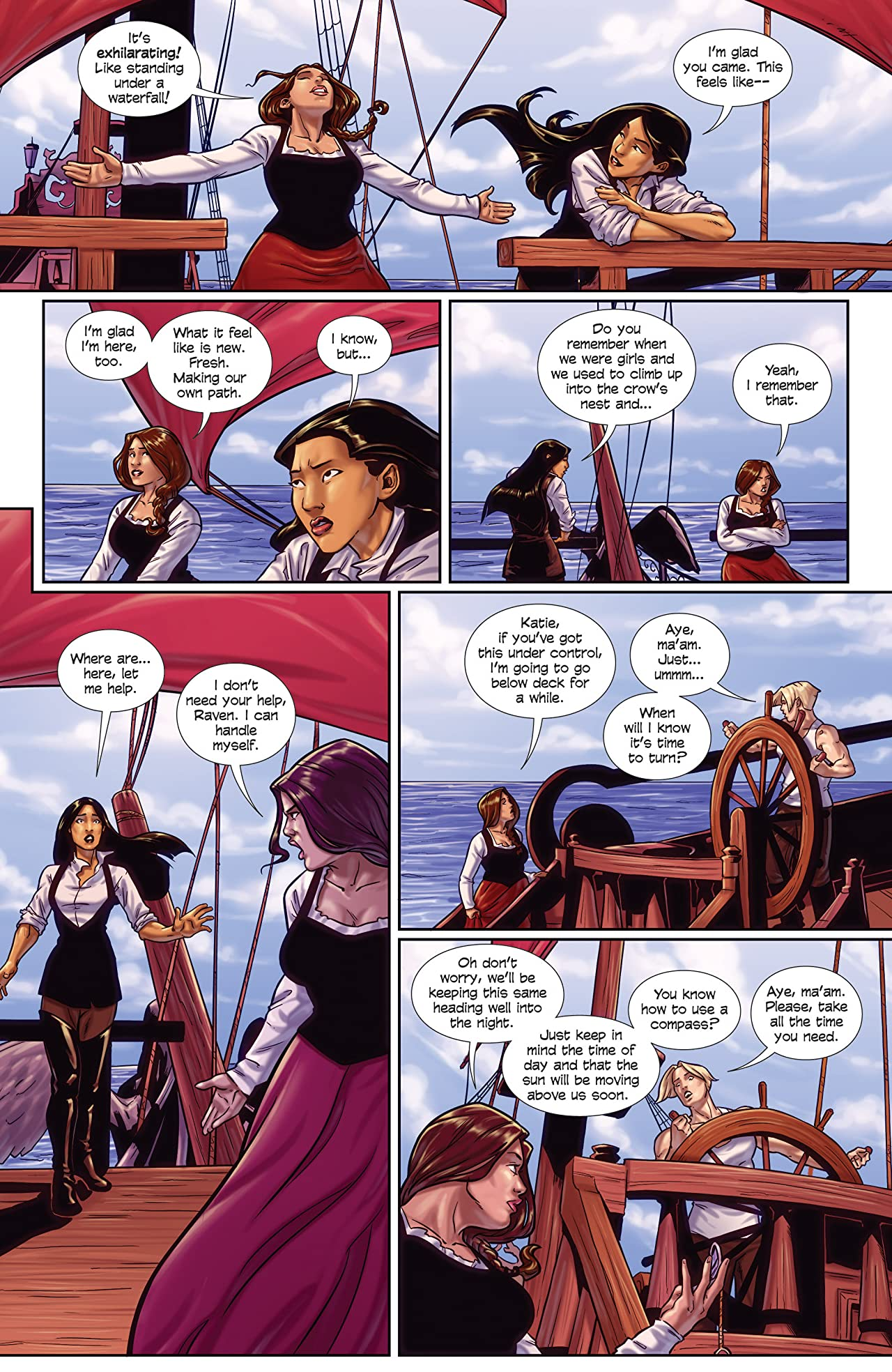 Princeless- Raven: The Pirate Princess Vol. 2: Free Women