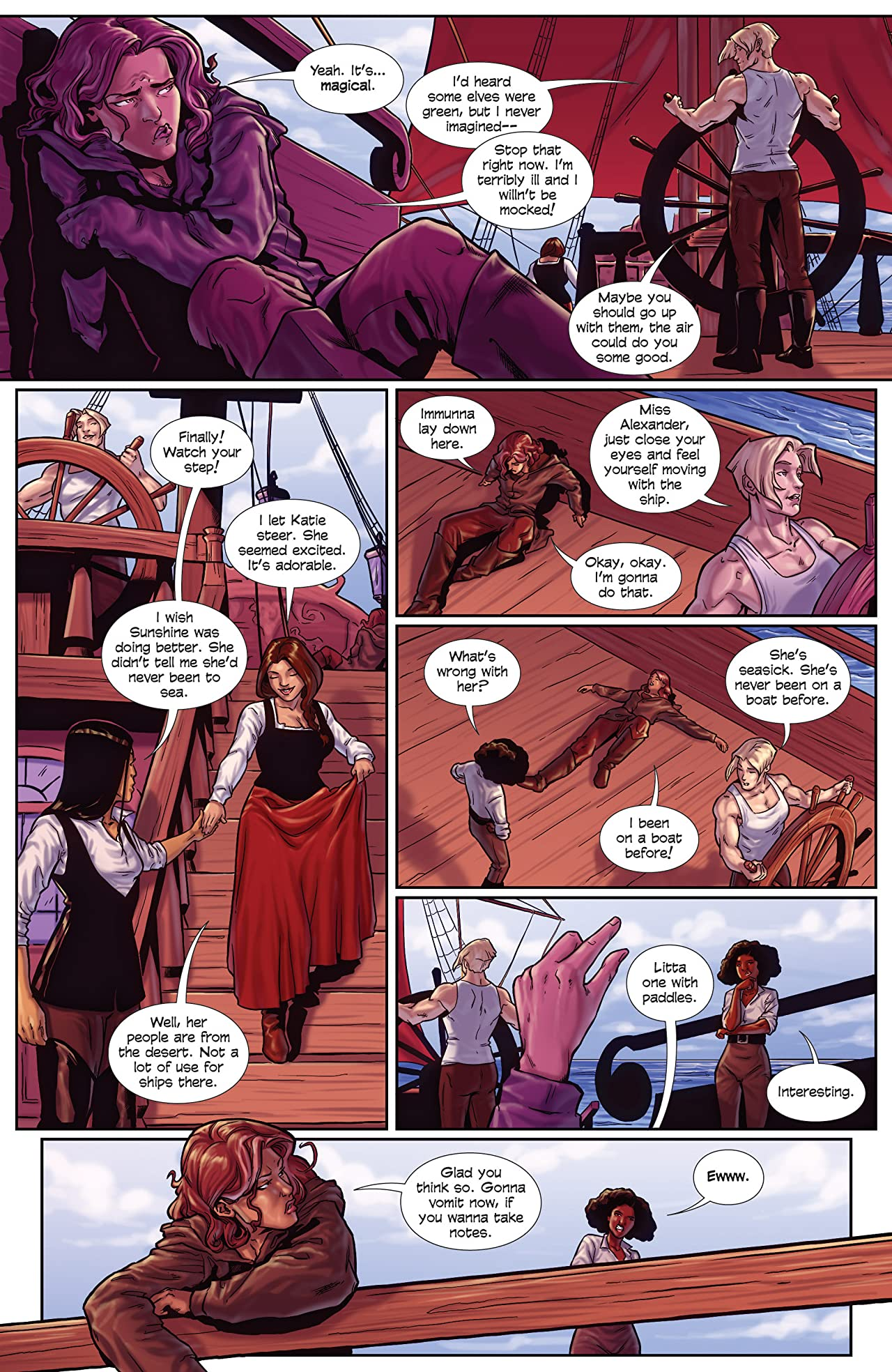 Princeless- Raven: The Pirate Princess Tome 2: Free Women