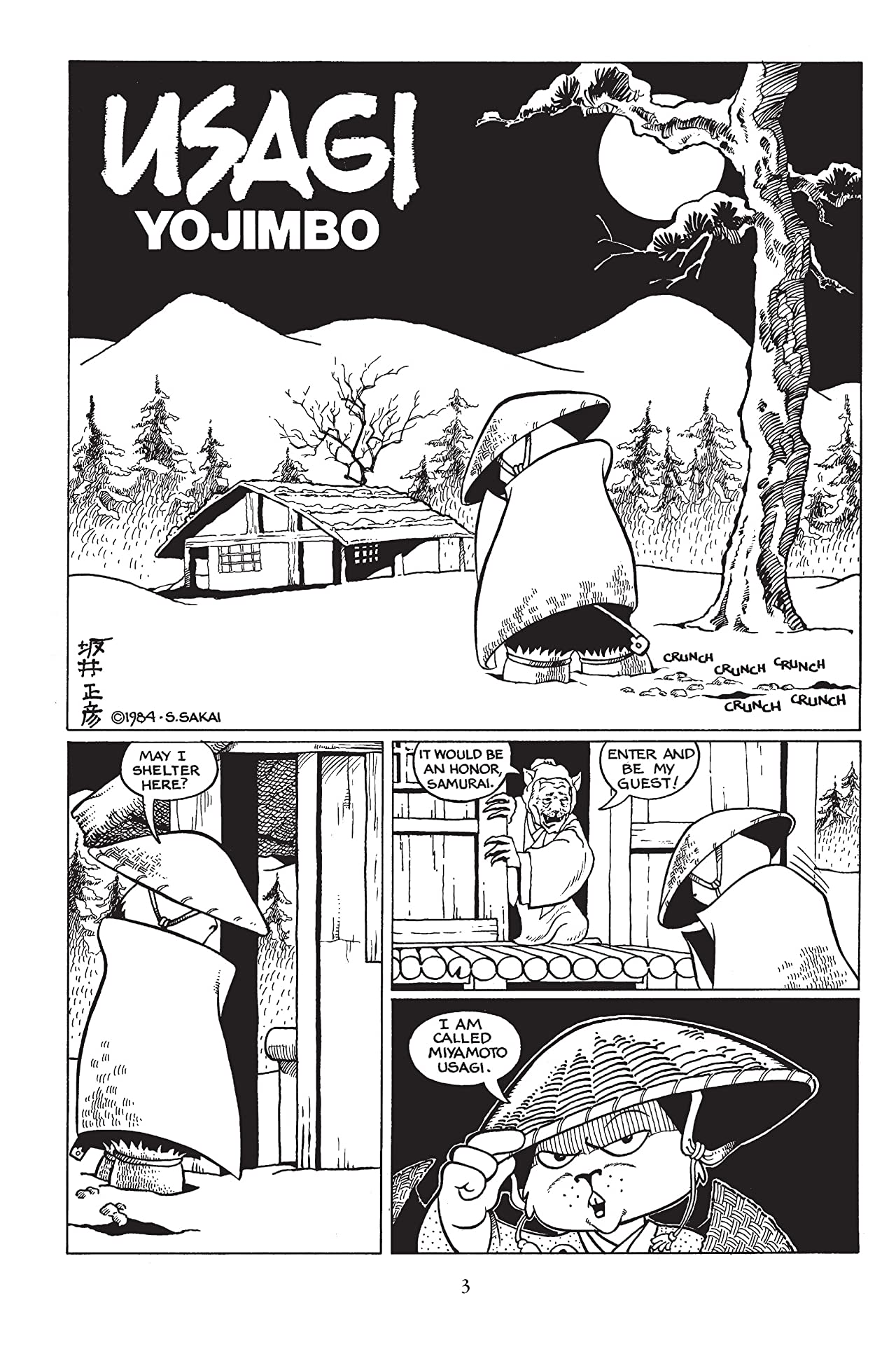 Usagi Yojimbo: Book 1: The Ronin