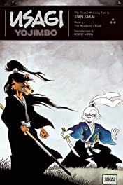 Usagi Yojimbo: Book 3: The Wanderer's Road