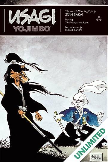 Usagi Yojimbo: Book 3: The Wanderer's Road