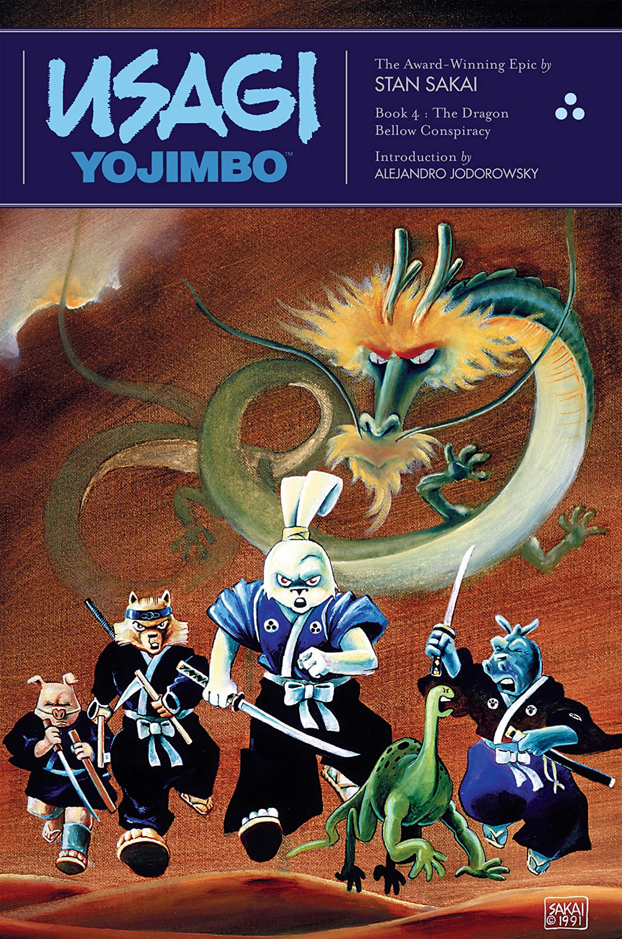 Usagi Yojimbo: Book 4: The Dragon Bellow Conspiracy