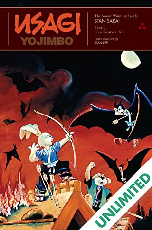 Usagi Yojimbo: Book 5: Lone Goat and Kid