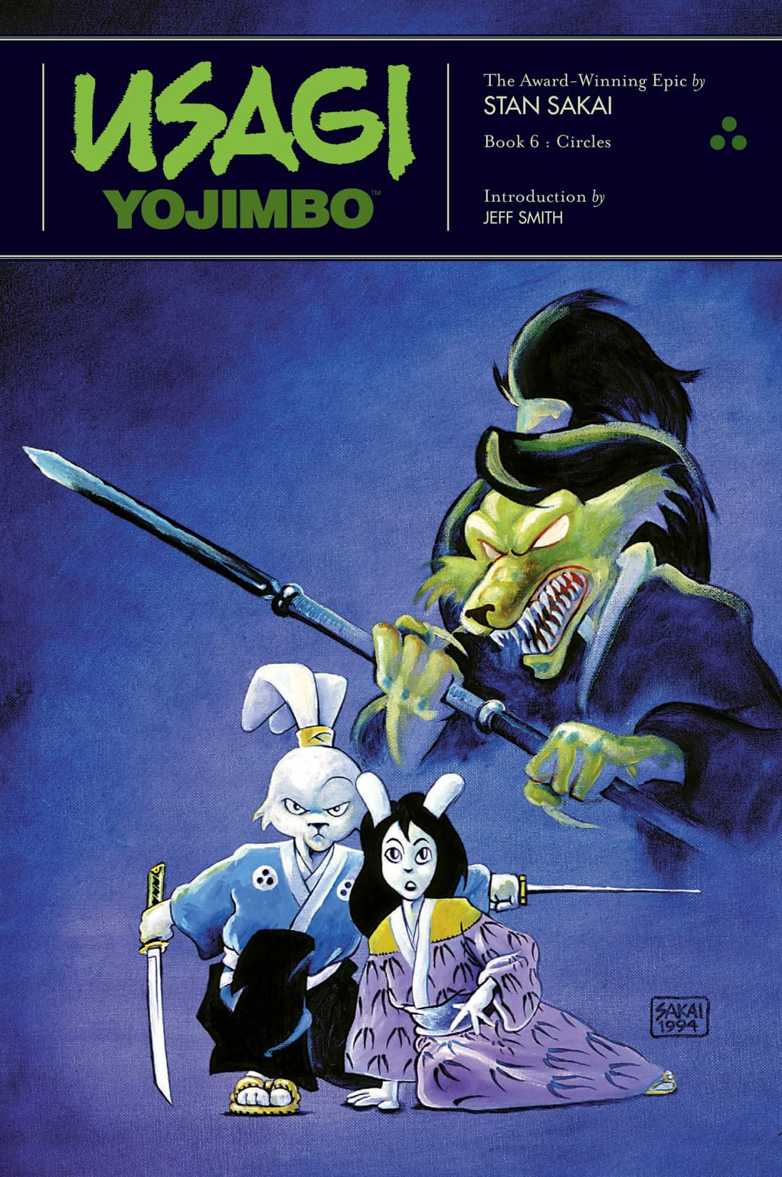 Usagi Yojimbo: Book 6: Circles