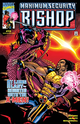 Bishop: The Last X-Man (1999-2000) No.15