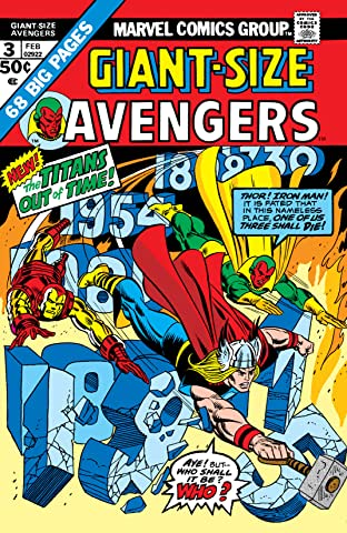 Giant-Size Avengers (1974) No.3