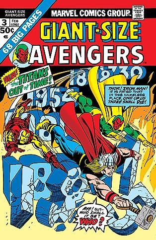 Giant-Size Avengers (1974) #3