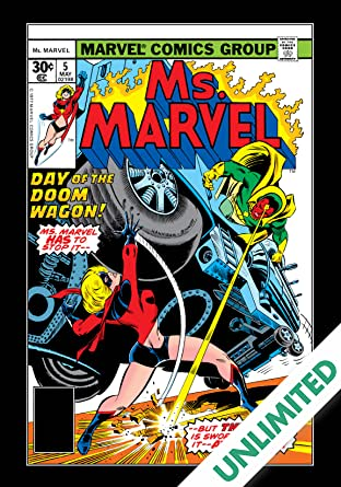 Ms. Marvel (1977-1979) #5
