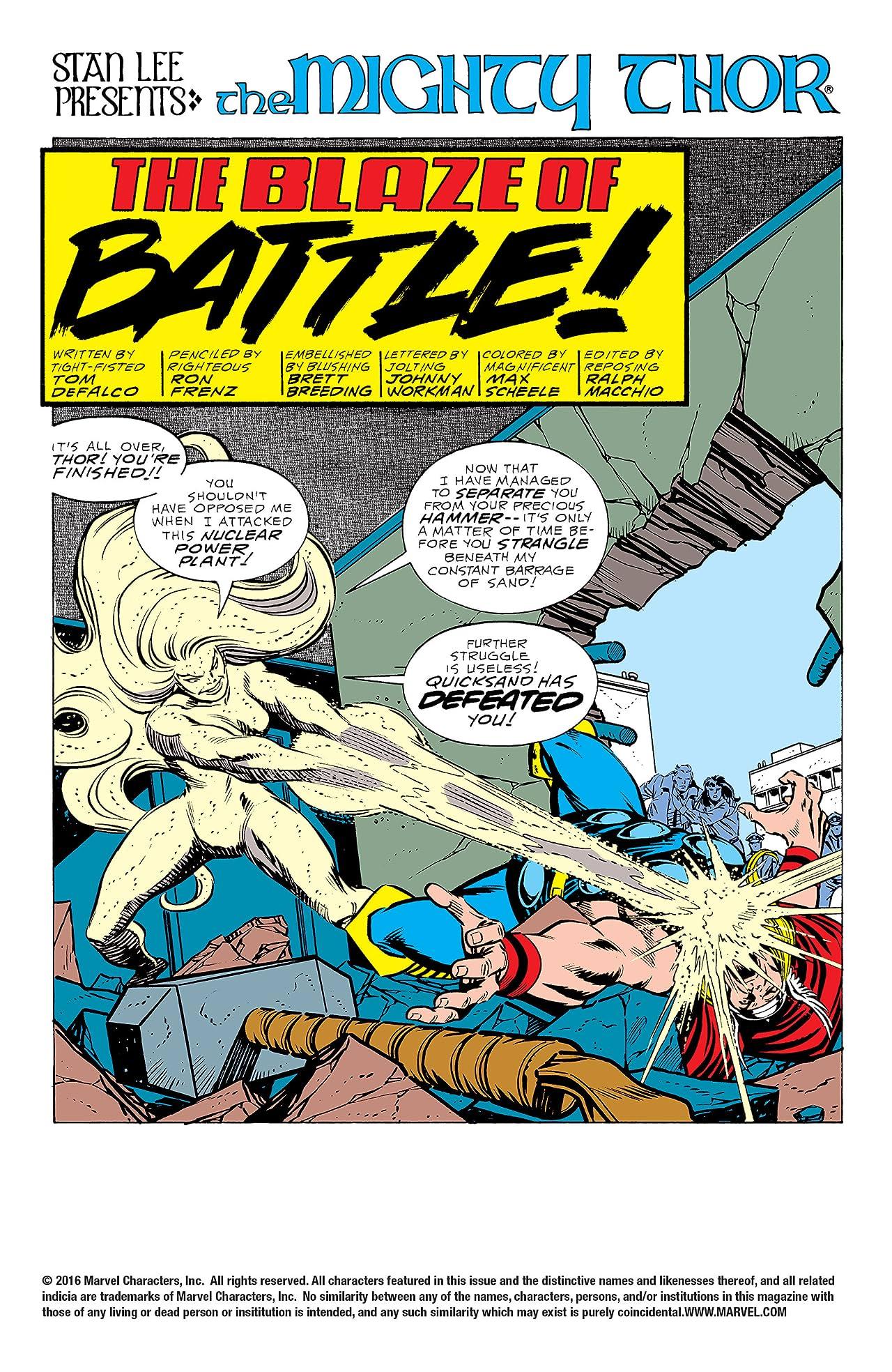 Thor (1966-1996) #393