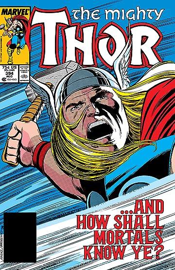 Thor (1966-1996) #394