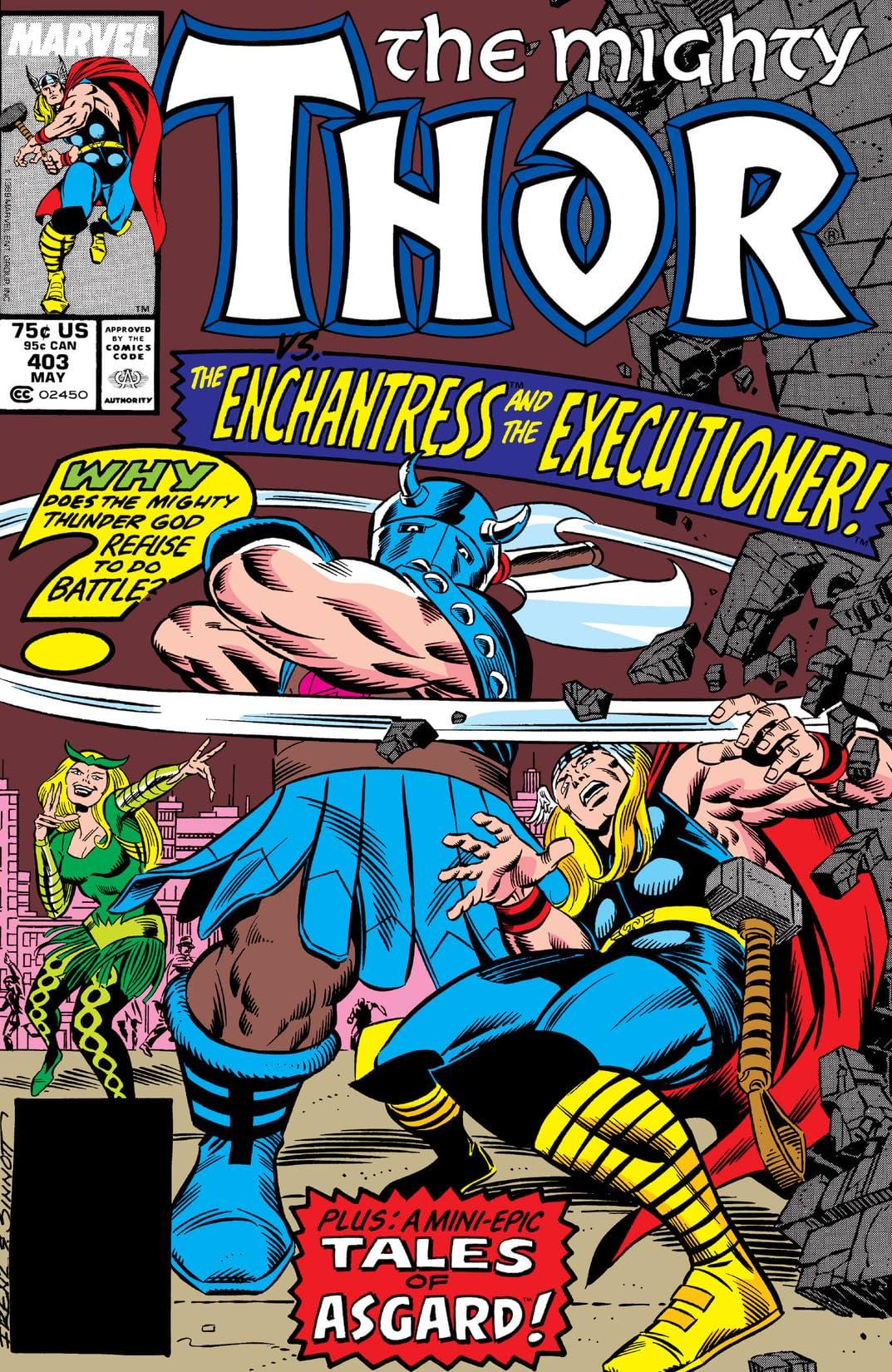 Thor (1966-1996) #403