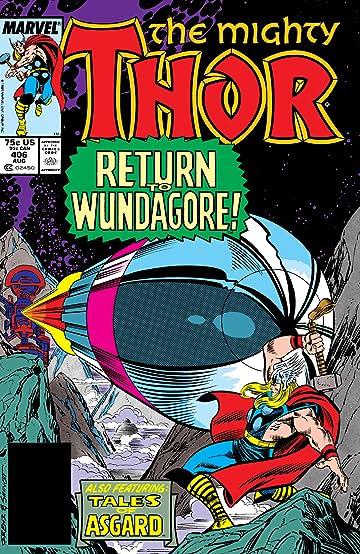 Thor (1966-1996) #406