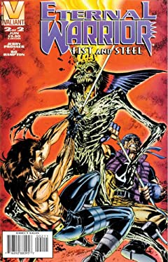 Eternal Warrior: Fist & Steel (1996) No.2
