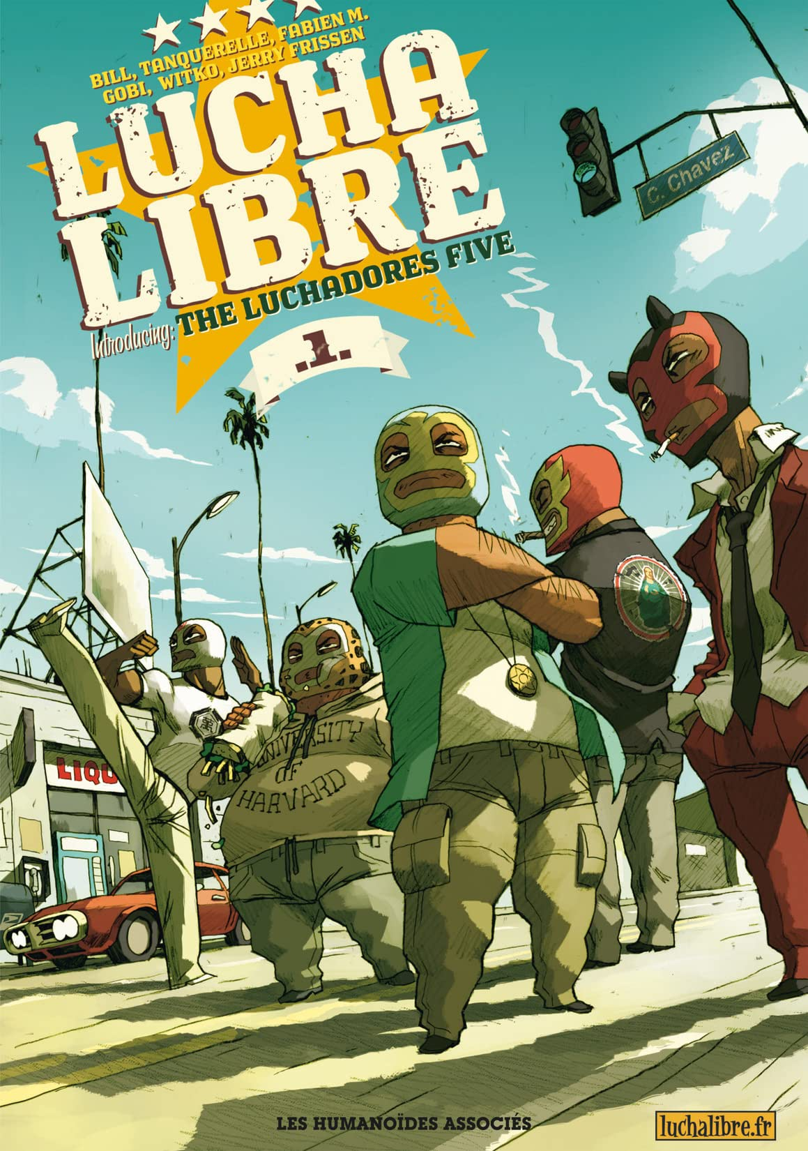 Lucha Libre Vol. 1: Introducing the Luchadores Five