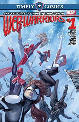 Timely Comics: Web Warriors No.1