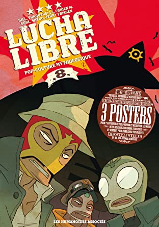 Lucha Libre Vol. 8: Pop-Culture mythologique