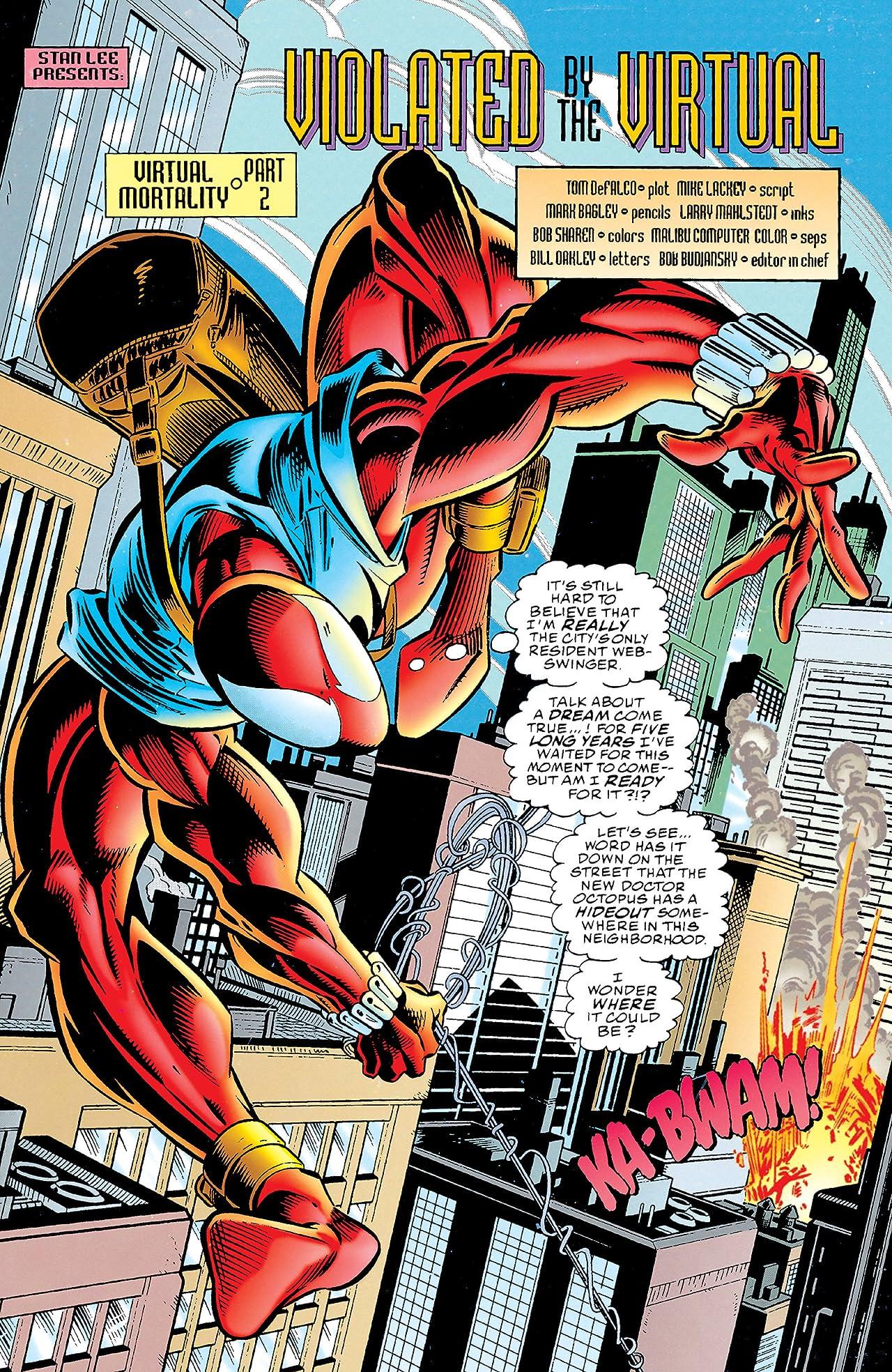 Amazing Scarlet Spider (1995) #1