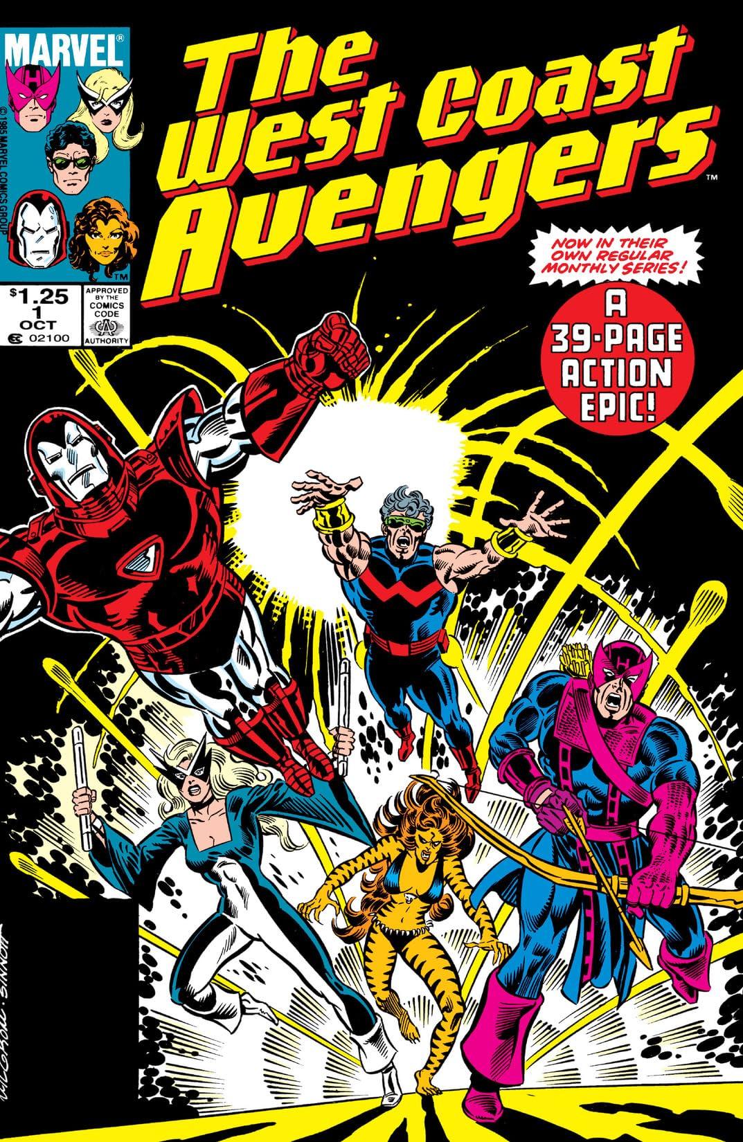 Avengers West Coast (1985-1994) #1