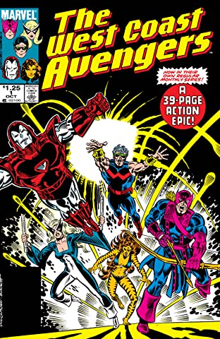 Avengers West Coast (1985-1994) No.1